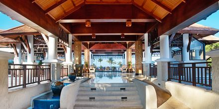 Aula, hotelli Rawi Warin. Koh Lanta, Thaimaa.