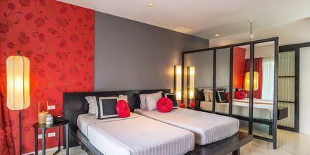 Kahden hengen huone, Red Ginger Chic Resort, Krabi, Thaimaa.