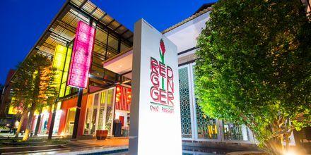 Aula, Red Ginger Chic Resort, Krabi, Thaimaa.