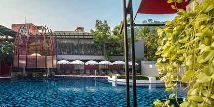 Allasalue, Red Ginger Chic Resort, Krabi, Thaimaa.