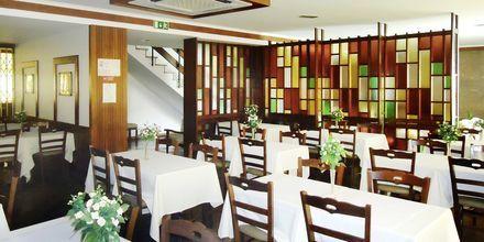 Ravintola, hotelli Residencial Greco. Funchal, Madeira.