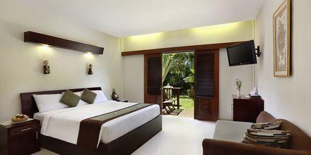 Deluxe-huone, hotelli Respati Beach, Sanur, Bali, Indonesia.