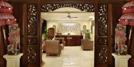 Aula, hotelli Respati Beach, Sanur, Bali, Indonesia.