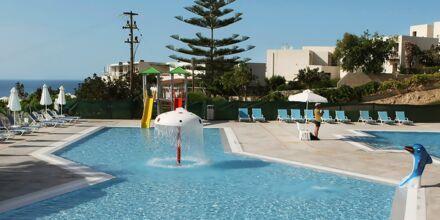 Allas vesiliukumäillä, Hotelli Rethymno Mare Resort, Kreeta.