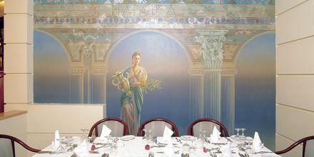 Ravintola. Hotelli Rethymno Palace, Rethymnon, Kreeta, Kreikka.