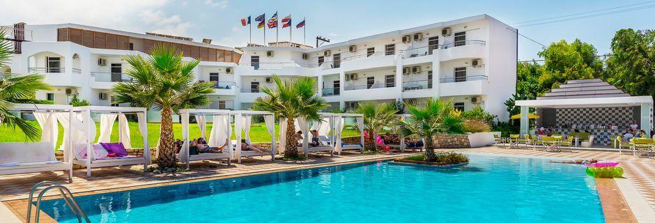 Allasalue, Hotelli Rethymno Residence, Kreeta.