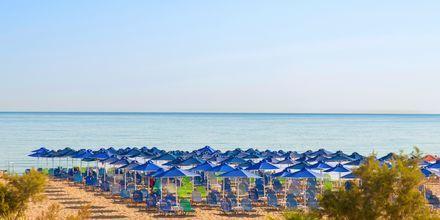 Kriti Beachin läheinen ranta. Rethymnonin, Kreeta.