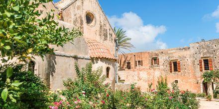 Arkadi-luostari lähellä Rethymnonin kaupunkia.