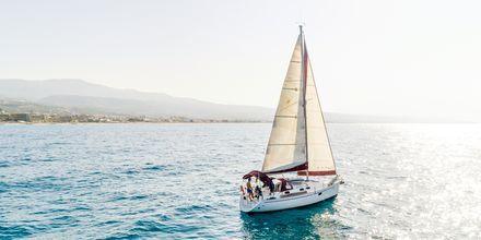 Rethymnonin rannikolla on kauniita näkymiä.