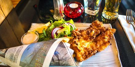 Valmistaudu siihen, että Reykjavikissa syöt paljon hyviä kala-annoksia!
