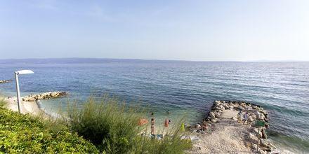 Läheinen ranta, Hotelli Ringo, Podstrana, Kroatia.