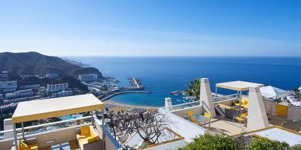 Näkymä hotellilta. Hotelli Riosol, Puerto Rico, Gran Canaria.