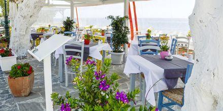 Ravintola. Hotelli RK Beach, Kamari, Santorini.