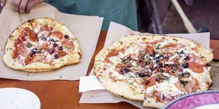 Italialaista pizzaa Roomassa.