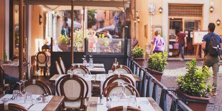 Rooma on ravintoloiden paratiisi, josta löytyy monia Michelin-tähden ravintoloita.