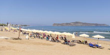 Läheinen ranta.Hotelli Rose, Kato Stalos, Kreeta.