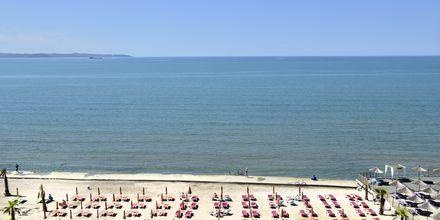 Läheinen ranta, Hotelli Royal G, Durresin Riviera, Albania.