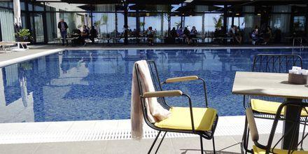Allasalue, Hotelli Royal G, Durresin Riviera, Albania.