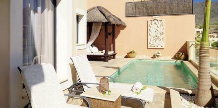 Neljän huoneen huoneisto, Royal Garden Villas, Playa de la Americas, Teneriffa.