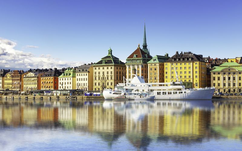 vuodelta Tukholma Ruotsi