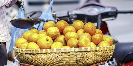 Markkinat Saigonissa, Vietnam