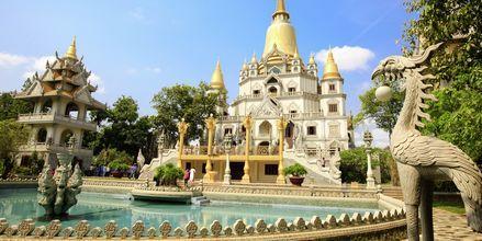 kaunis Buu Long Pagoda, Saigon, Vietnam.
