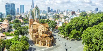Notre Dame, Saigon, Vietnam.
