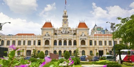Kaupungintalo, Saigon, Vietnam.