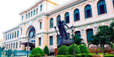 Postikonttori, Saigon, Vietnam.
