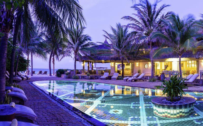 Allas, hotelli Mia Mui Ne Resort. Phan Thiet, Vietnam.