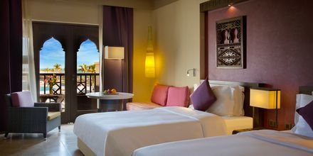 Kahden hengen huone, Salalah Rotana Resort, Oman.