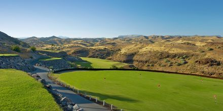 Golfkenttä, Hotelli Salobre Hotel & Resort, Gran Canaria.