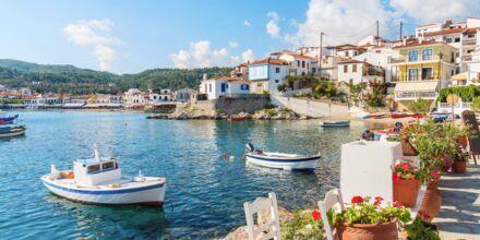 Kokkarin satama,Samos, Kreikka.