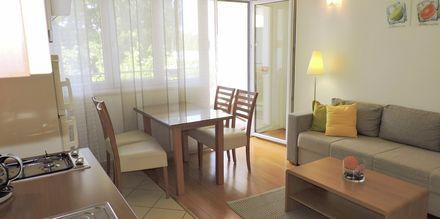 Kaksio. Hotelli Sanja, Makarska, Kroatia.