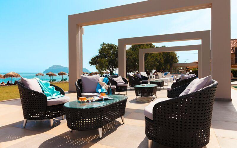 Allasbaari, Hotelli Santa Helena Beach, Platanias