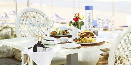 Sealine taverna, Hotelli Giannoulis Santa Marina Beach, Agia Marina, Kreeta.