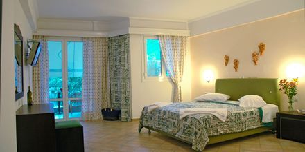 Yksiö. Hotelli Santa Maura, Lefkas, Kreikka.