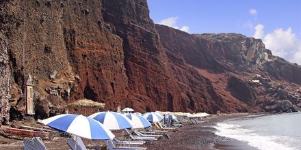 Red Beach. Santorini, Kreikka.