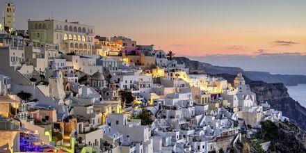Fira, Santorini, Kreikka.