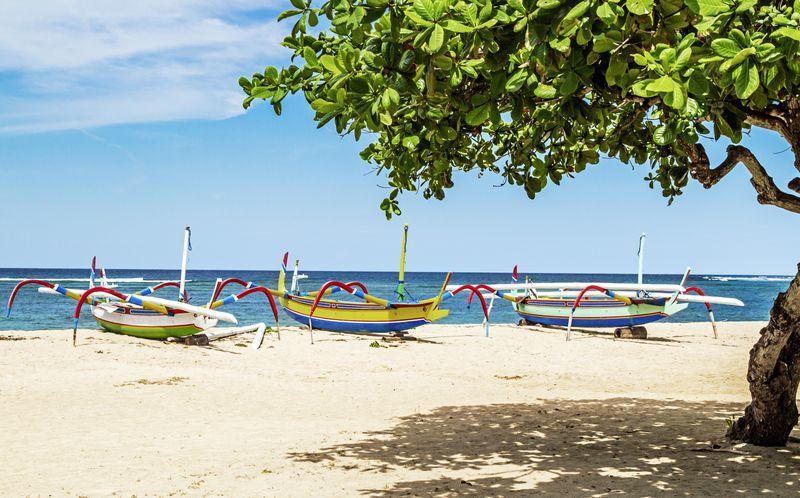 Sanur Beach, Bali.