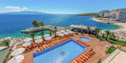 Hotelli Saranda Palace, Albania.