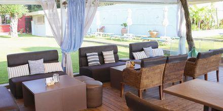 Ravintola. Hotelli Scheria Island, Korfu, Kreikka.
