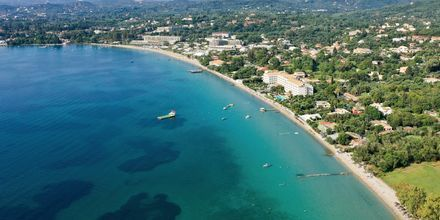 Näkymä yli Dassian. Korfu, Kreikka.