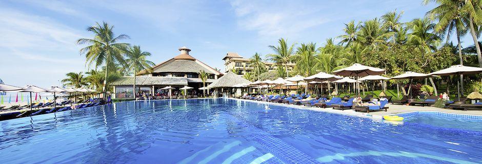 Allasalue, Hotelli Seahorse Resort & Spa, Phan Thiet, Vietnam.