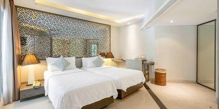 Deluxe -huone, hotelli Segara Village. Bali, Indonesia.