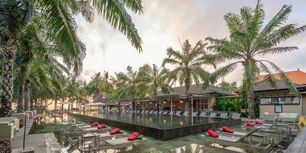 Allasalue, hotelli Segara Village. Bali, Indonesia.