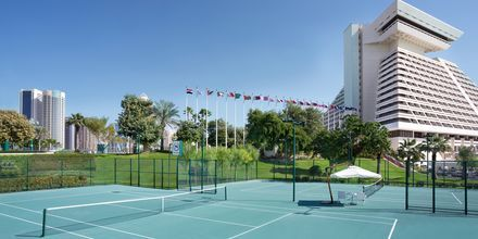 Tenniskenttä. Sheraton Grand Doha Resort, Doha, Qatar.