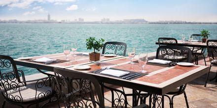 Näkymä ravintola La Verandasta. Sheraton Grand Doha Resort, Doha, Qatar.