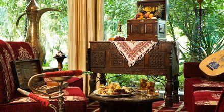 Al Hadiqa telttabaari, Hotelli Sheraton Jumeirah Beach Resort, Dubai.