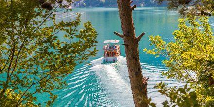 Lähde Manavgatin joelle lomasi aikana Turkissa.